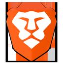 Brave mobile logo