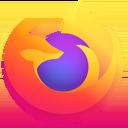 Firefox mobile logo