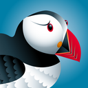 Puffin mobile logo