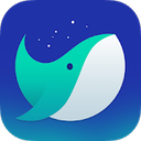 Whale mobile logo