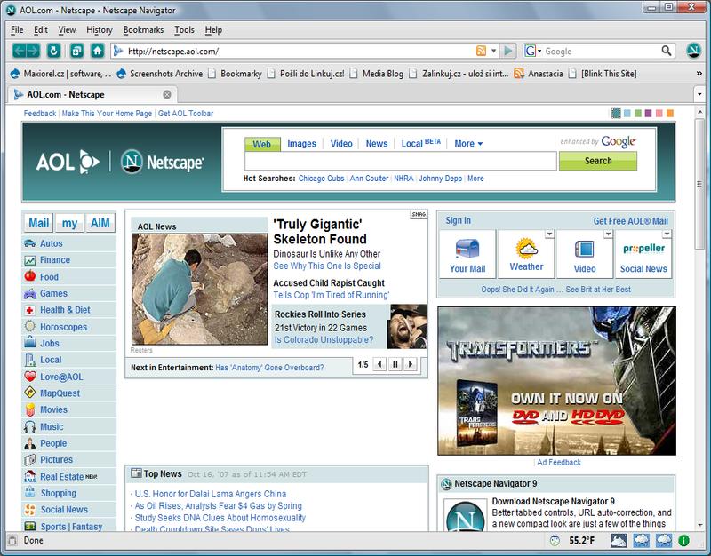 Netscape 5.0
