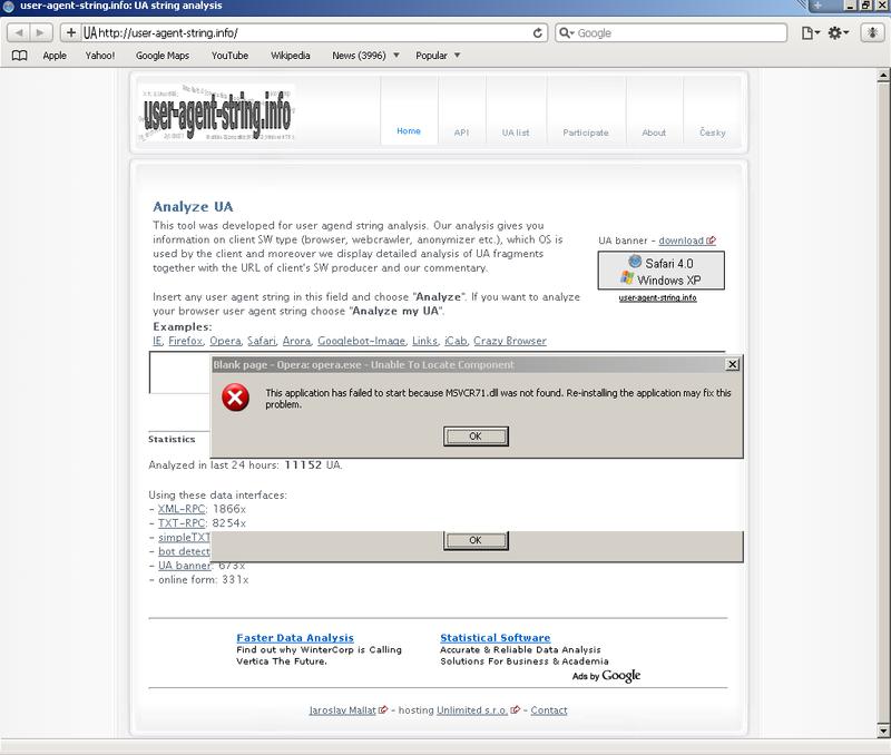 Safari <-UA list :: udger com