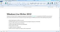 Windows Live Writer - Win7